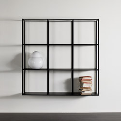 Hardy Bookcase wall unit | Shelving | Meridiani