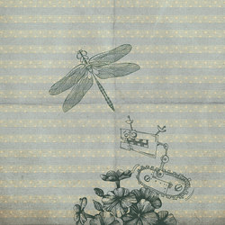 Bye bye dragonfly | Wandbilder / Kunst | Inkiostro Bianco