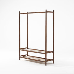 Nomad SHOE RACK AND HANGER | Portemanteaux sur pied | Karpenter