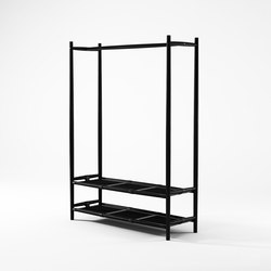 Nomad SHOE RACK AND HANGER | Standgarderoben | Karpenter
