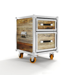 Roadie SIDE TABLE-CHEST W/ 2 DRAWERS | Alacenas | Karpenter