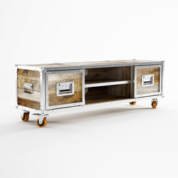 Roadie TV CHEST W/ 2 DRAWERS | Commodes multimédia | Karpenter