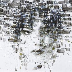 Decodificazione 01 | Quadri / Murales | Inkiostro Bianco