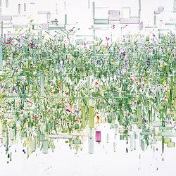 Decodificazione 02 | Wall art / Murals | Inkiostro Bianco