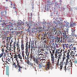 Decodificazione 03 | Wall art / Murals | Inkiostro Bianco