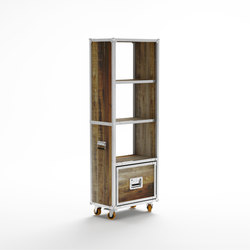 Roadie DISPLAY RACK WITH W/ DRAWER | Shelving | Karpenter
