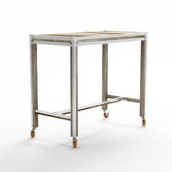 Roadie RECTANGULAR BAR TABLE | Tavoli a consolle | Karpenter