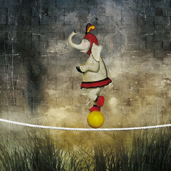 Equilibrium | Wall art / Murals | Inkiostro Bianco