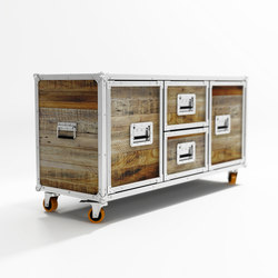 Roadie SIDEBOARD W/ 2 DRAWERS & 2 DOORS | Credenze | Karpenter