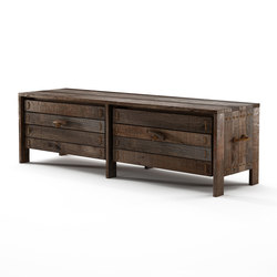 Rope Me ENTRY BENCH 2 DRAWERS | Sideboards / Kommoden | Karpenter
