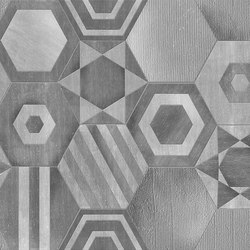 Hexagons | Wall coverings / wallpapers | Inkiostro Bianco