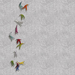 Vir Volans | Wall art / Murals | Inkiostro Bianco