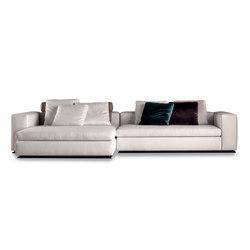 Leonard | Modular sofa systems | Minotti