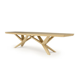 XENIA OAK | Dining tables | Belfakto