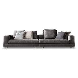 White | Lounge sofas | Minotti