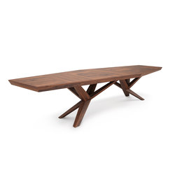 XENIA WALNUT | Dining tables | Belfakto