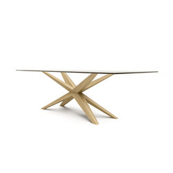 XAVER DINING TABLE | Conference tables | Belfakto