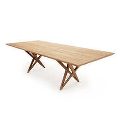 VIVIAN TABLE CHERRY | Tables de repas | Belfakto