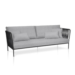 Nido Sofa mit Polyesterseil XL | Gartensofas | Expormim