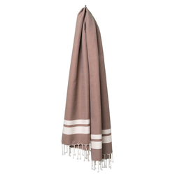 fouta Classique marron, chestnut | Towels | fouta gmbh