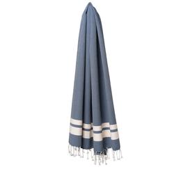 fouta Classique bleu foncé, dark blue | Towels | fouta gmbh