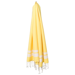fouta Classique jaune citron, yellow | Towels | fouta gmbh