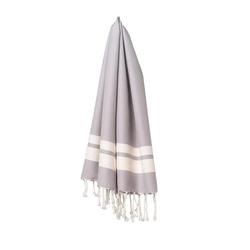 fouta Petite nuée d'orage, silver grey | Towels | fouta gmbh