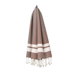 fouta Petite marron, chestnut | Towels | fouta gmbh