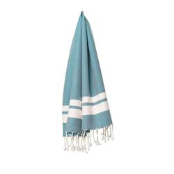 fouta Petite bleu lumineux, petrol blue | Towels | fouta