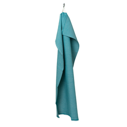 fouta Upcycling bleu lumineux, petrol blue | Towels | fouta gmbh