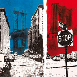 Manhattan | Arte | Inkiostro Bianco