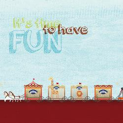 Merry-Go! | Wall art / Murals | Inkiostro Bianco