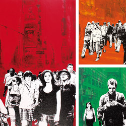 People | Wandbilder / Kunst | Inkiostro Bianco