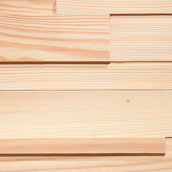 ELEMENTs CUBE Larch white | Planchas de madera | Admonter Holzindustrie AG
