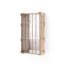 Shelf Crate 23. | Tablettes murales | Antique Mirror