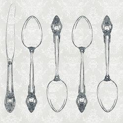 Silverware | Wandbilder / Kunst | Inkiostro Bianco