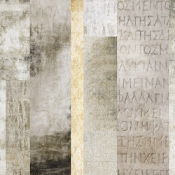 Stone inscriptions | Wall coverings / wallpapers | Inkiostro Bianco