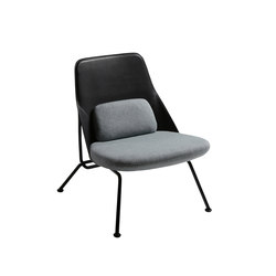 Sillones sillones lounge asientos strain chair prostoria for Sillones sin apoyabrazos