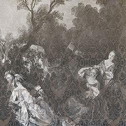 Toile de jouy 01 | Wall art / Murals | Inkiostro Bianco