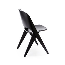 Lavitta chair black | Sedie multiuso | Poiat