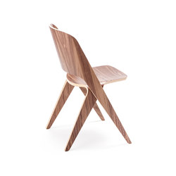 Lavitta chair misty walnut | Chaises polyvalentes | Poiat