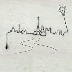 Ville lumiere | Wall art / Murals | Inkiostro Bianco