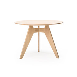 Lavitta 3-legged round table | Tavoli caffetteria | Poiat
