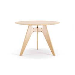 Lavitta Round Table 100cm – Oak | Dining tables | Poiat