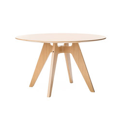 Lavitta 4-legged round table | Mesas para restaurantes | Poiat