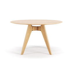 Lavitta Round Table 120cm – Oak | Mesas comedor | Poiat