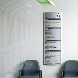 system sieben Wechselmodule | Orientierungszeichen | Meng Informationstechnik