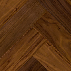 FLOORs Selection 2bond twin bâtons rompus Noyer U.S. elegance | Sols en bois | Admonter Holzindustrie AG