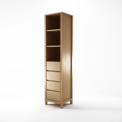 Solid RACK 4 DRAWERS 3 COMPARTMENTS | Regale | Karpenter