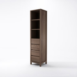 Solid RACK 4 DRAWERS 3 COMPARTMENTS | Shelving systems | Karpenter